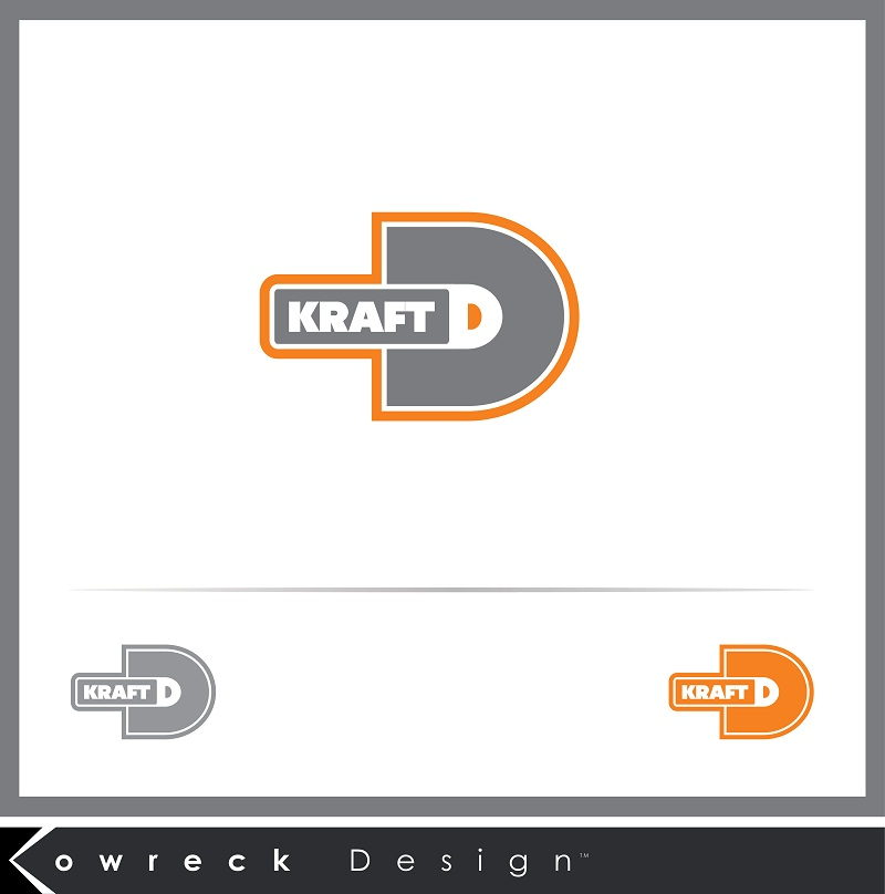 Logo Design by kowreck - Entry No. 16 in the Logo Design Contest Unique Logo Design Wanted for Kraft D Inc.
