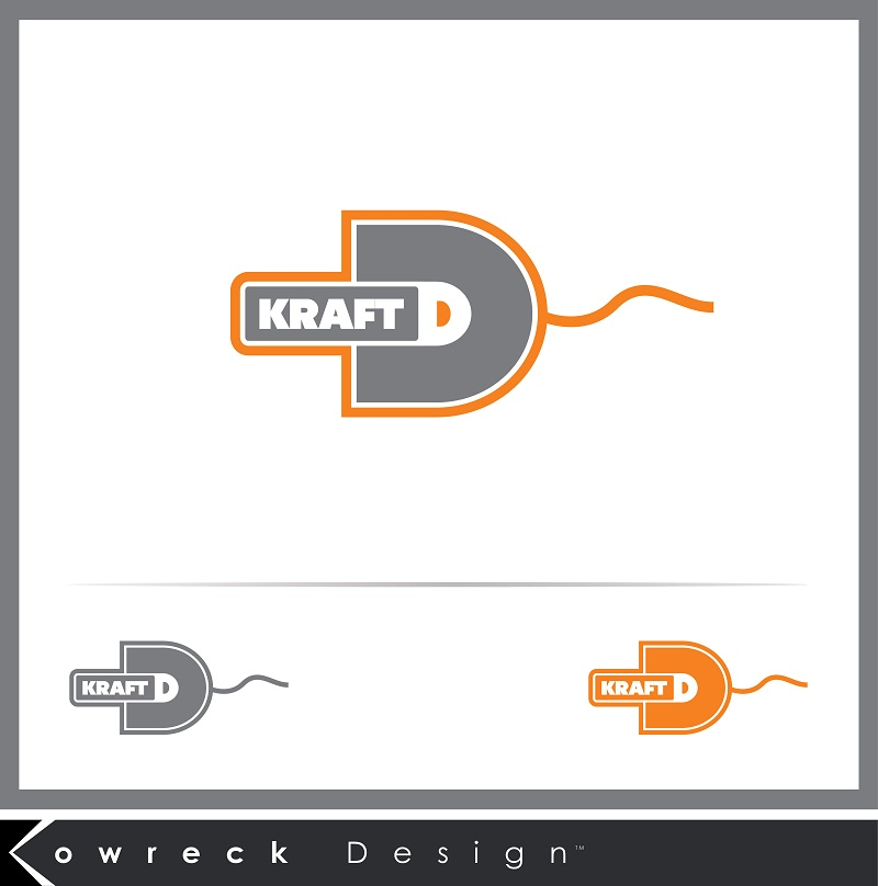 Logo Design by kowreck - Entry No. 17 in the Logo Design Contest Unique Logo Design Wanted for Kraft D Inc.