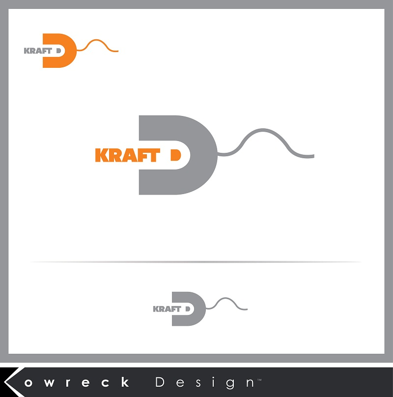 Logo Design by kowreck - Entry No. 18 in the Logo Design Contest Unique Logo Design Wanted for Kraft D Inc.