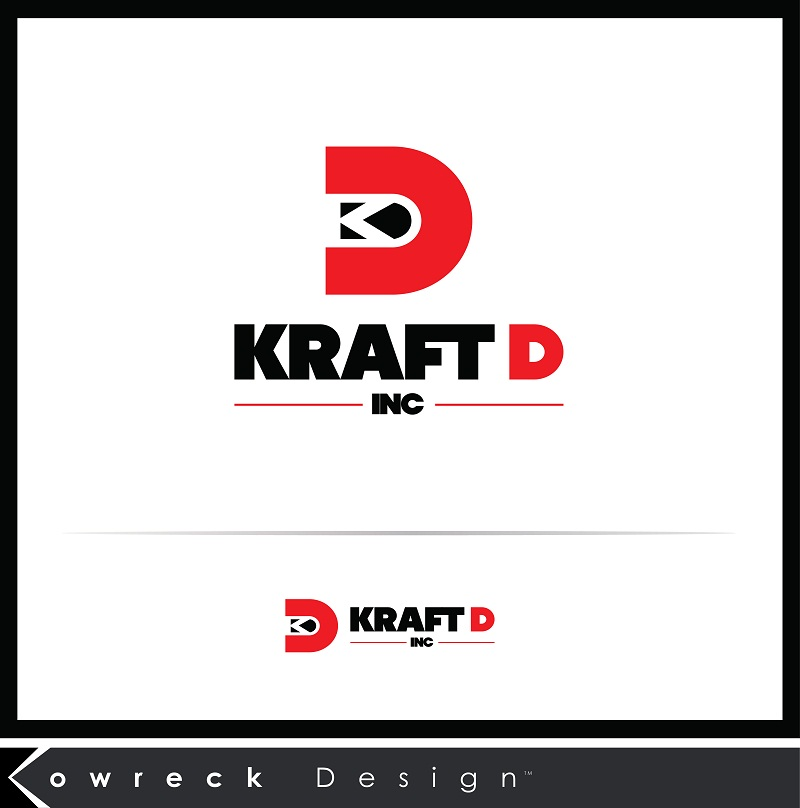 Logo Design by kowreck - Entry No. 19 in the Logo Design Contest Unique Logo Design Wanted for Kraft D Inc.