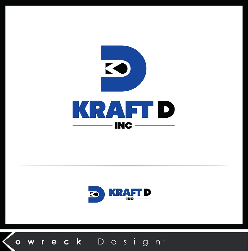 Logo Design by kowreck - Entry No. 20 in the Logo Design Contest Unique Logo Design Wanted for Kraft D Inc.