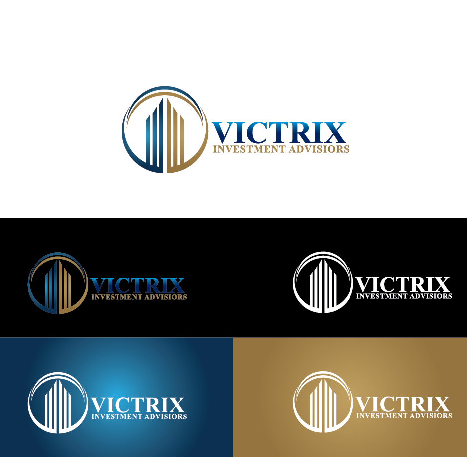 Logo Design by Private User - Entry No. 157 in the Logo Design Contest Inspiring Logo Design for Victrix Investment Advisors.
