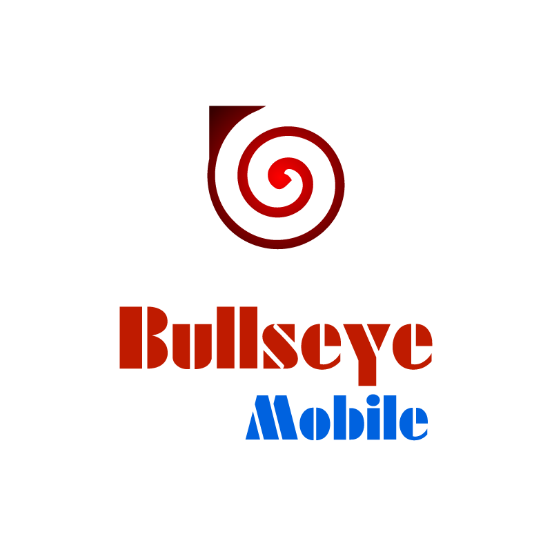 Logo Design by rei - Entry No. 159 in the Logo Design Contest Bullseye Mobile.