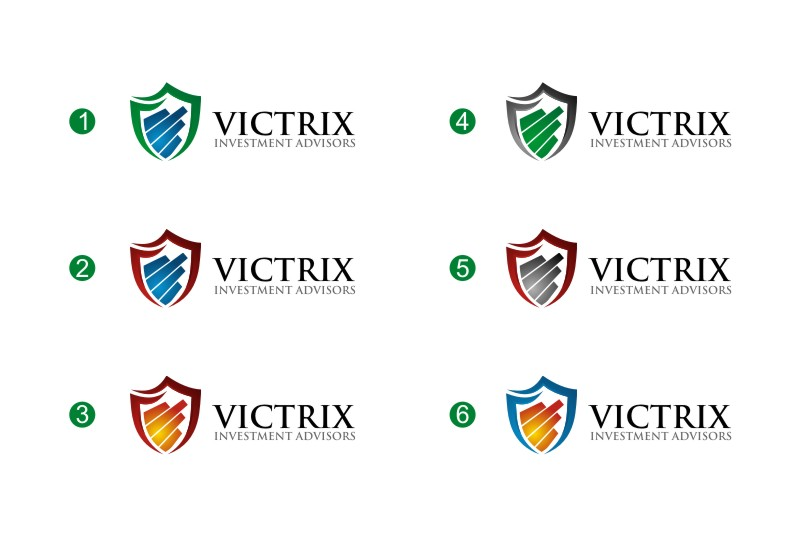 Logo Design by untung - Entry No. 164 in the Logo Design Contest Inspiring Logo Design for Victrix Investment Advisors.