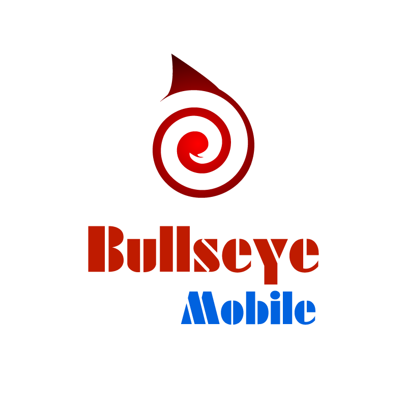 Logo Design by rei - Entry No. 160 in the Logo Design Contest Bullseye Mobile.