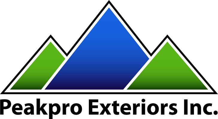 Logo Design by Lefky - Entry No. 54 in the Logo Design Contest Captivating Logo Design for Peakpro Exteriors Inc..