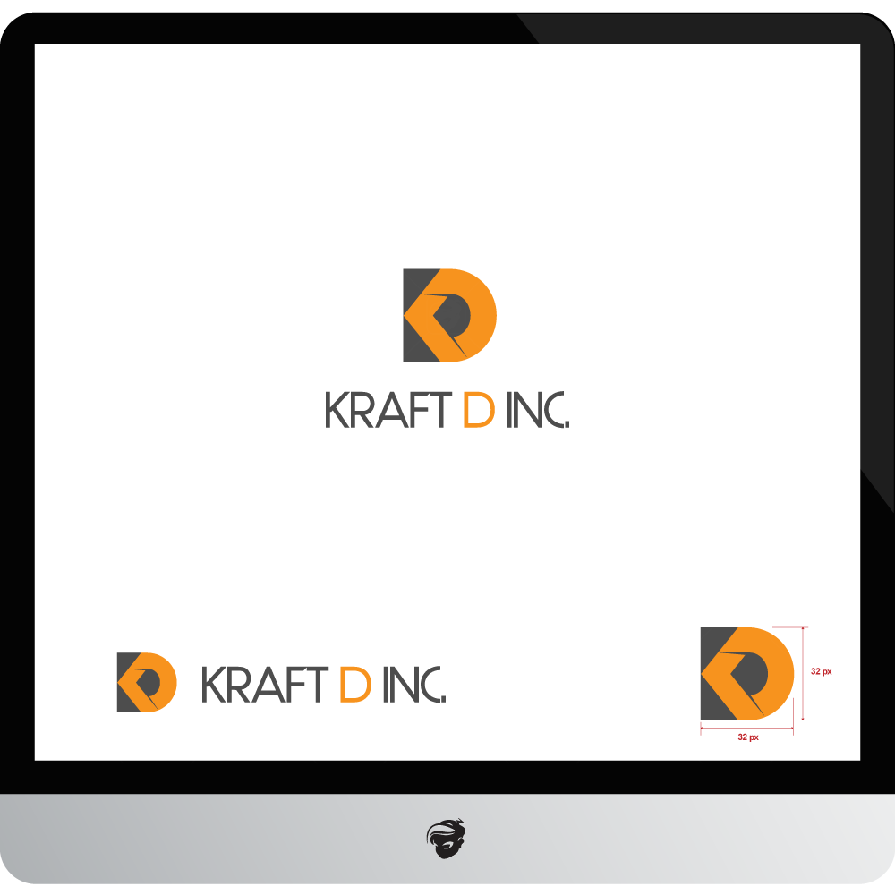 Logo Design by zesthar - Entry No. 27 in the Logo Design Contest Unique Logo Design Wanted for Kraft D Inc.