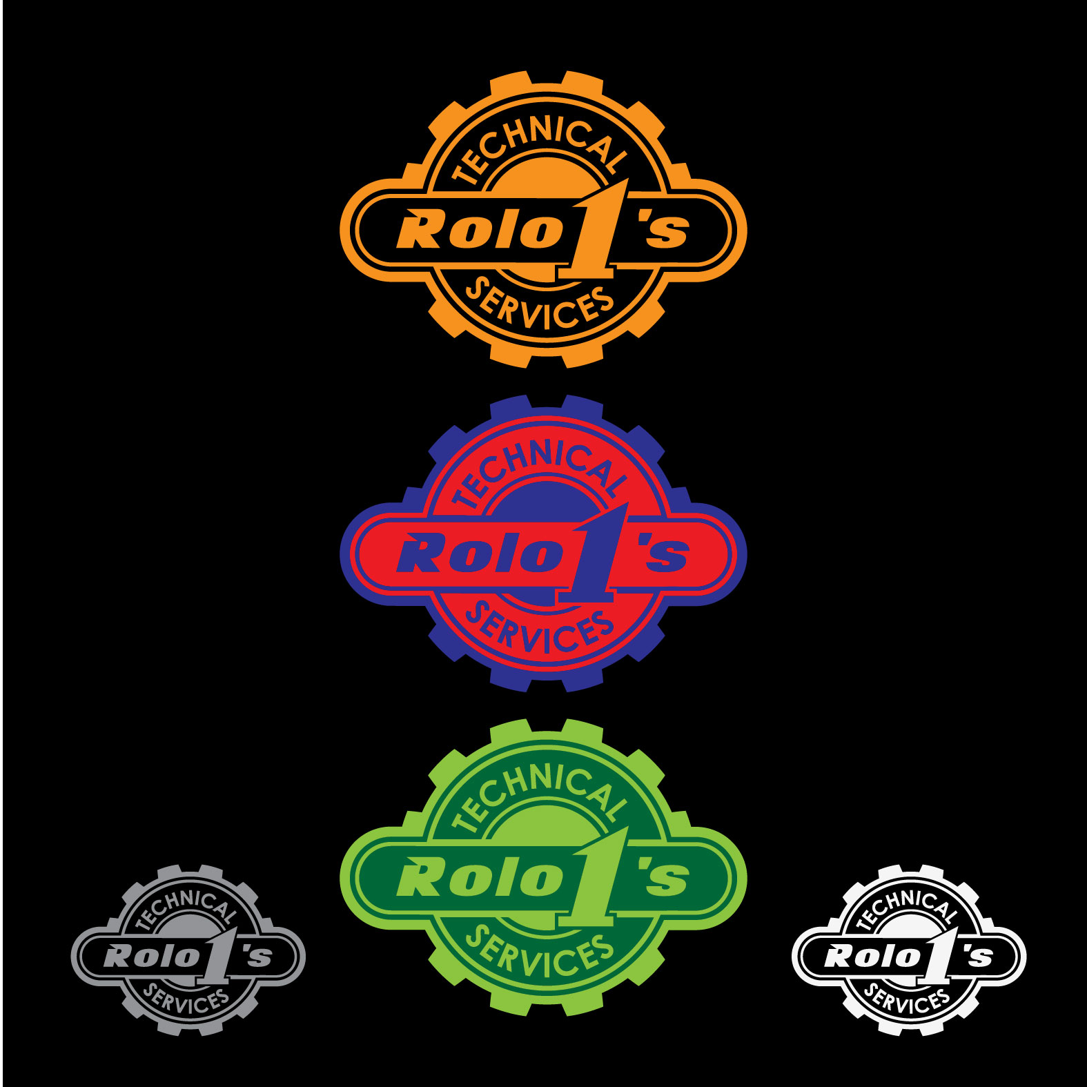 Logo Design by lagalag - Entry No. 24 in the Logo Design Contest Inspiring Logo Design for Rolo1's Technical Services.