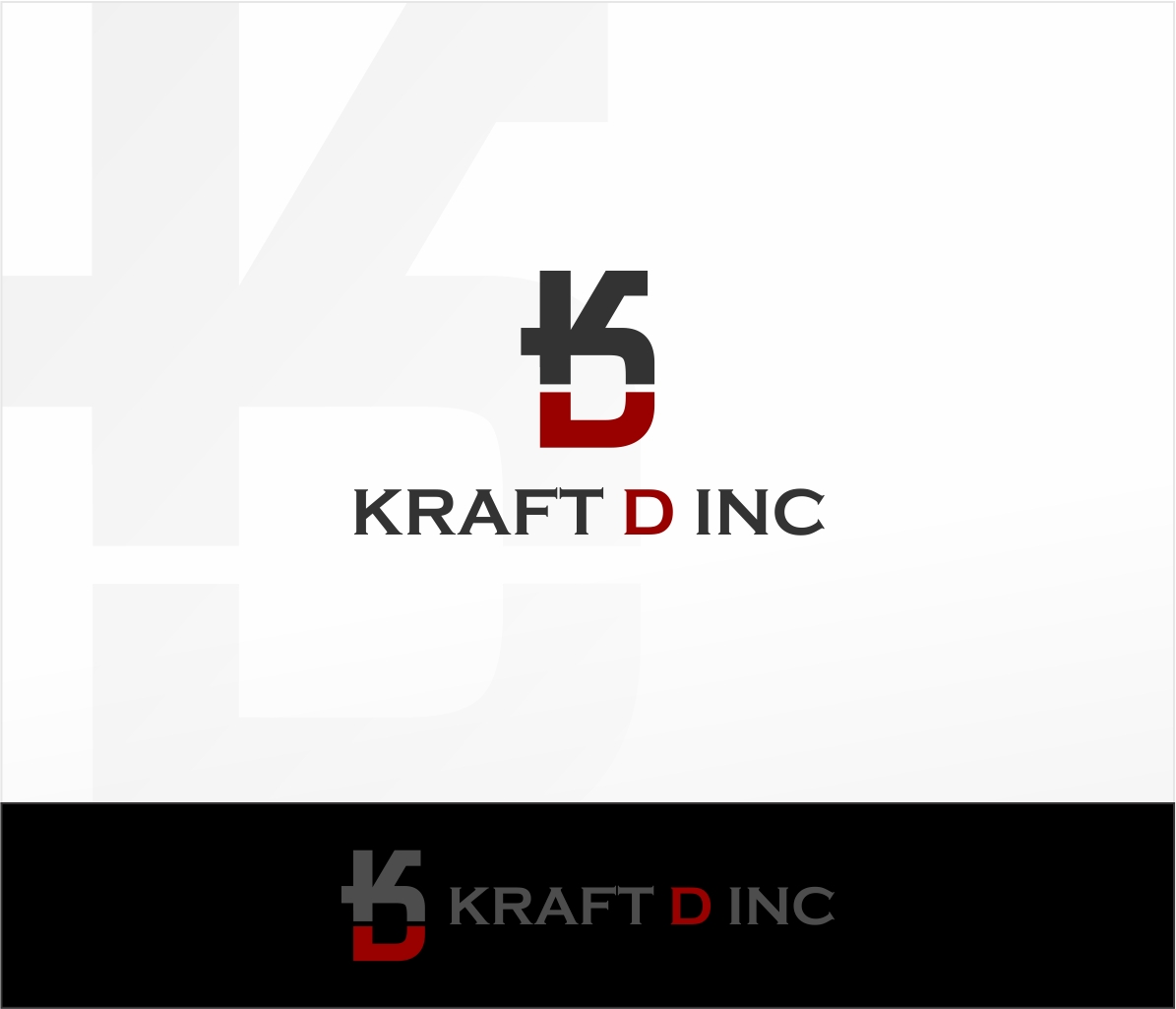 Logo Design by haidu - Entry No. 28 in the Logo Design Contest Unique Logo Design Wanted for Kraft D Inc.