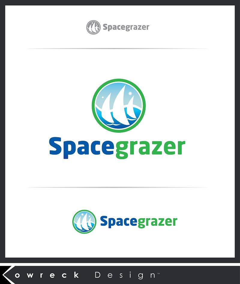 Logo Design by kowreck - Entry No. 149 in the Logo Design Contest Fun Logo Design for Spacegrazer.