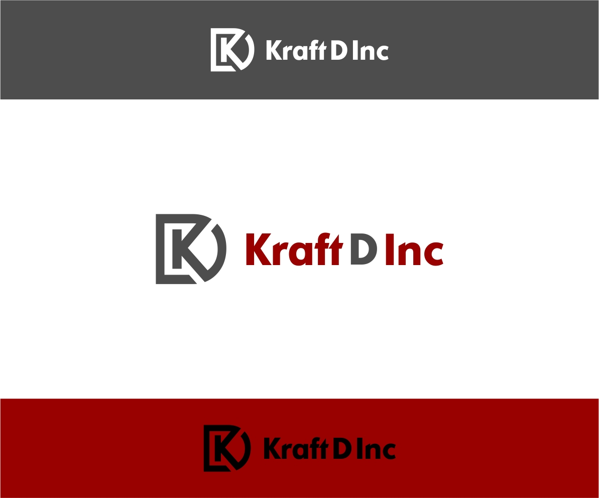 Logo Design by haidu - Entry No. 31 in the Logo Design Contest Unique Logo Design Wanted for Kraft D Inc.