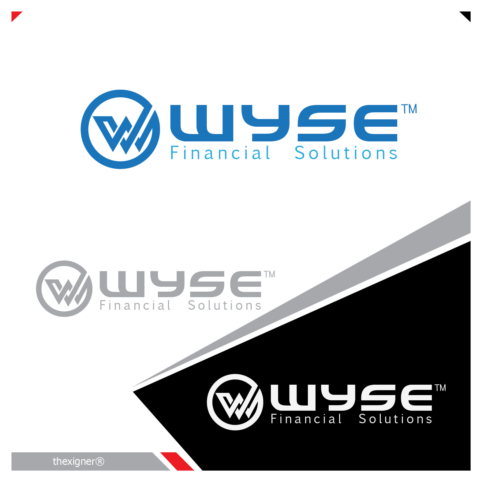 Logo Design by lagalag - Entry No. 27 in the Logo Design Contest Fun Logo Design for Wyse Financial Solutions.