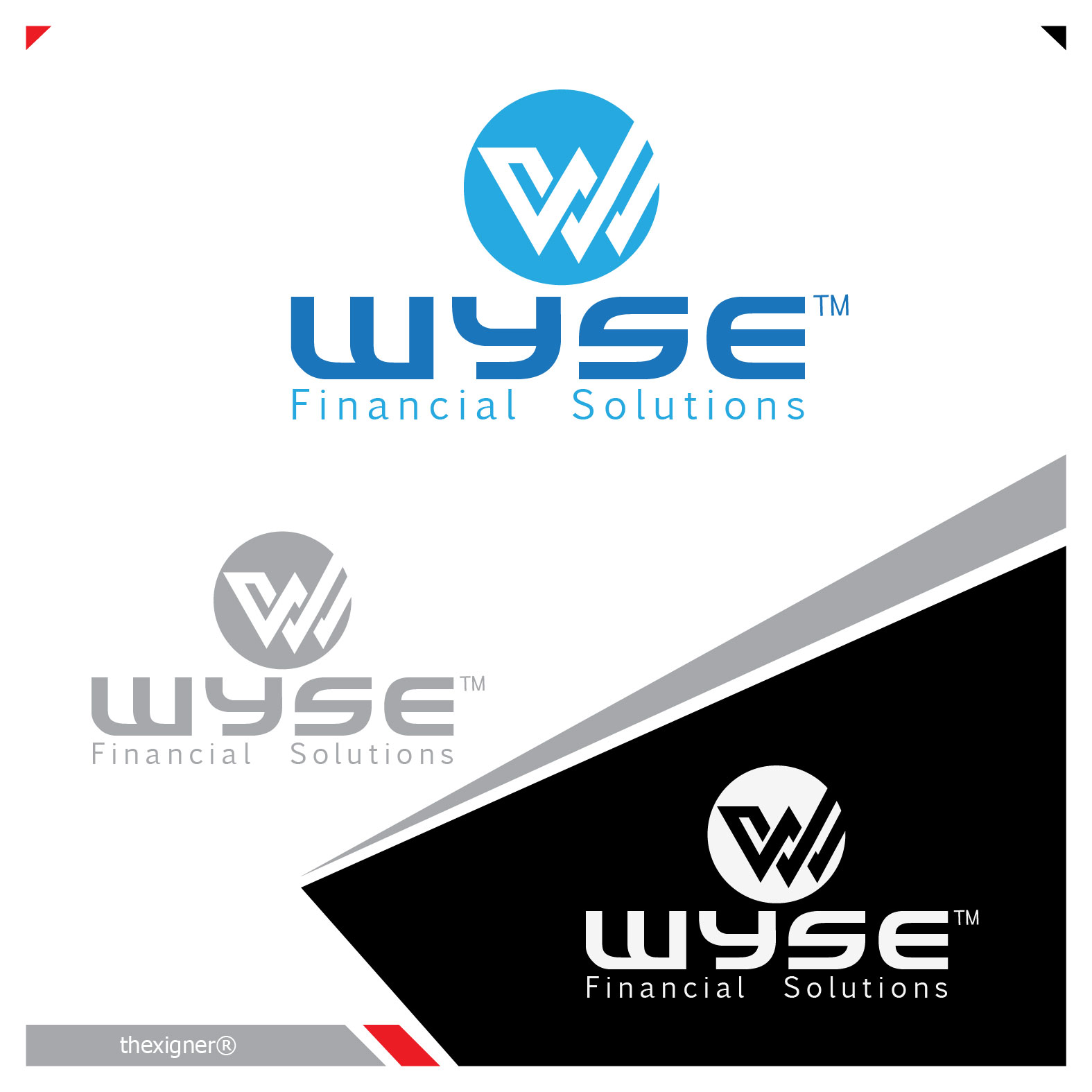 Logo Design by lagalag - Entry No. 28 in the Logo Design Contest Fun Logo Design for Wyse Financial Solutions.