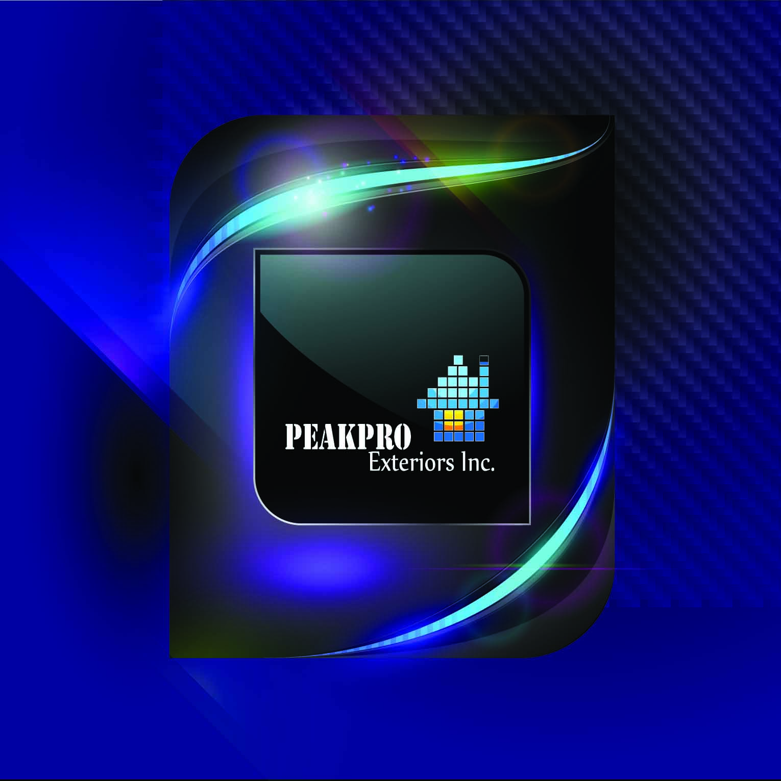 Logo Design by mediaproductionart - Entry No. 58 in the Logo Design Contest Captivating Logo Design for Peakpro Exteriors Inc..