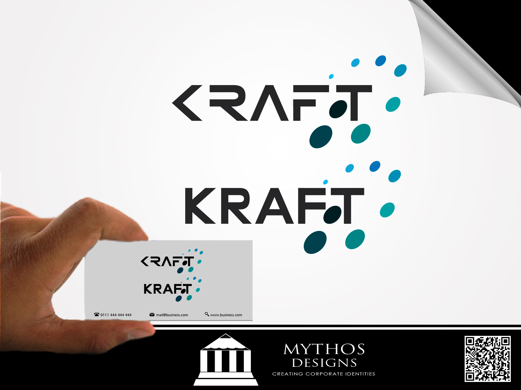 Logo Design by Mythos Designs - Entry No. 35 in the Logo Design Contest Unique Logo Design Wanted for Kraft D Inc.
