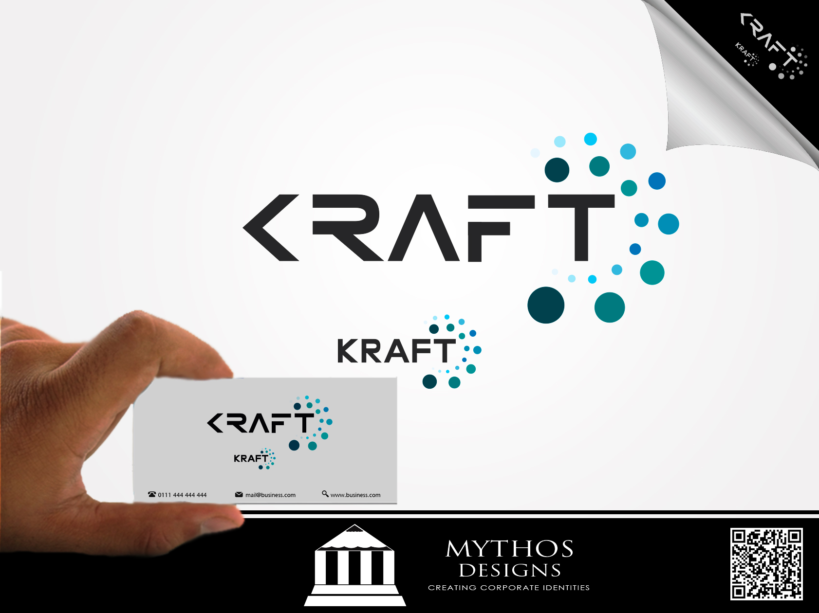 Logo Design by Mythos Designs - Entry No. 37 in the Logo Design Contest Unique Logo Design Wanted for Kraft D Inc.