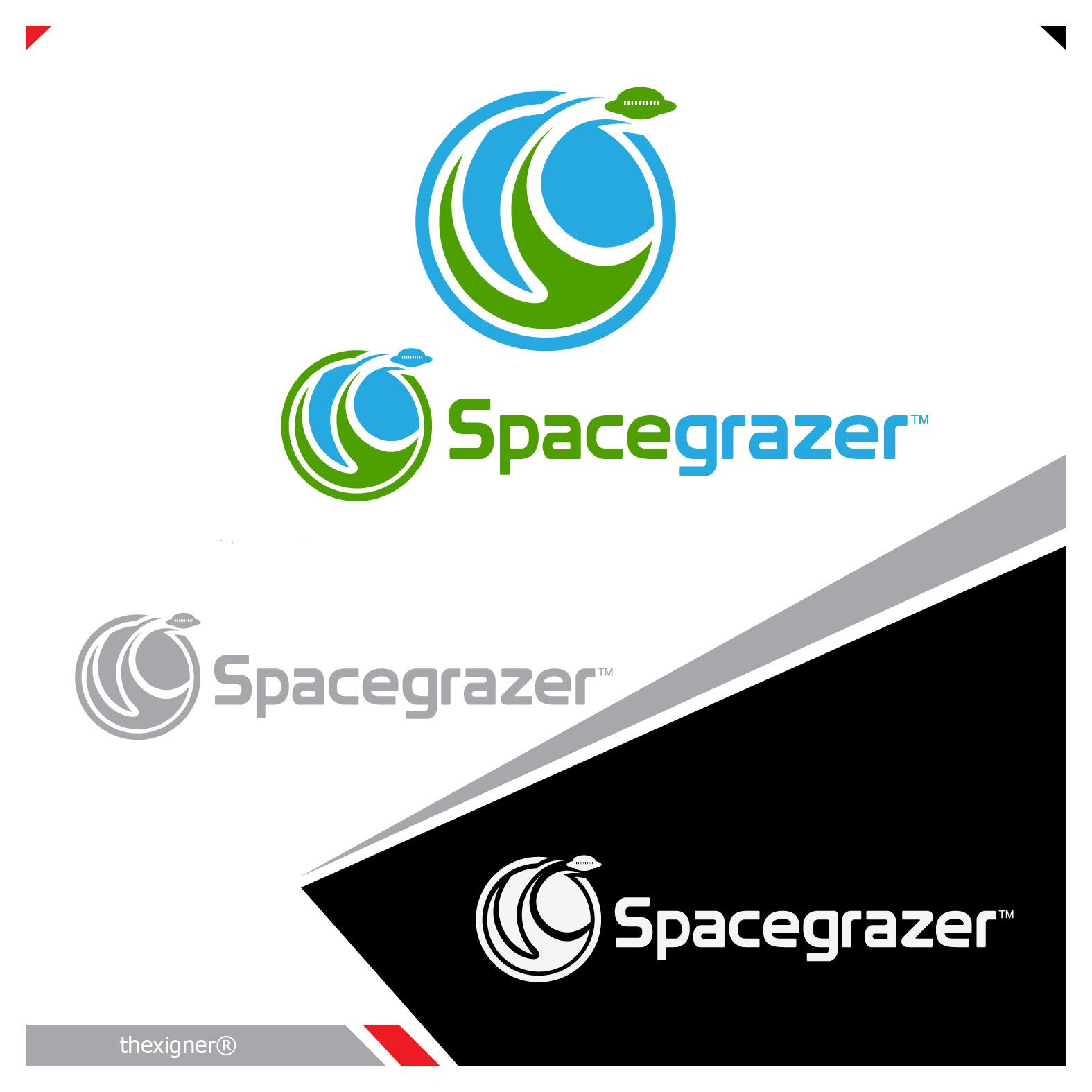 Logo Design by lagalag - Entry No. 150 in the Logo Design Contest Fun Logo Design for Spacegrazer.