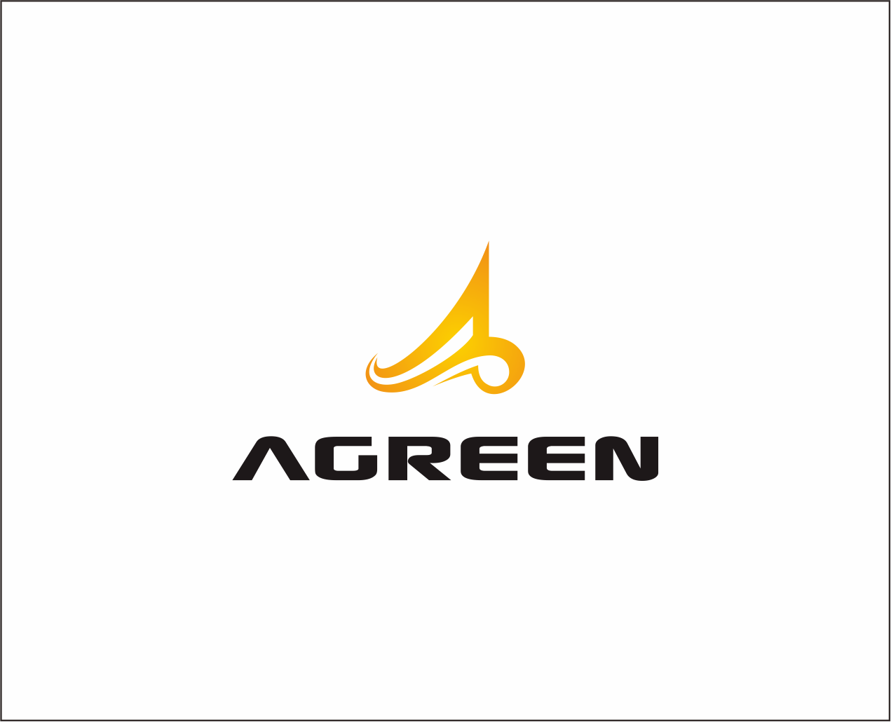 Logo Design by Armada Jamaluddin - Entry No. 6 in the Logo Design Contest Inspiring Logo Design for Agreen.