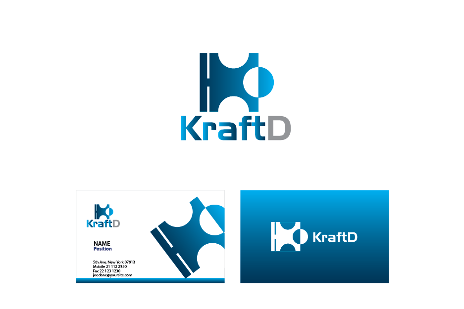 Logo Design by Private User - Entry No. 48 in the Logo Design Contest Unique Logo Design Wanted for Kraft D Inc.