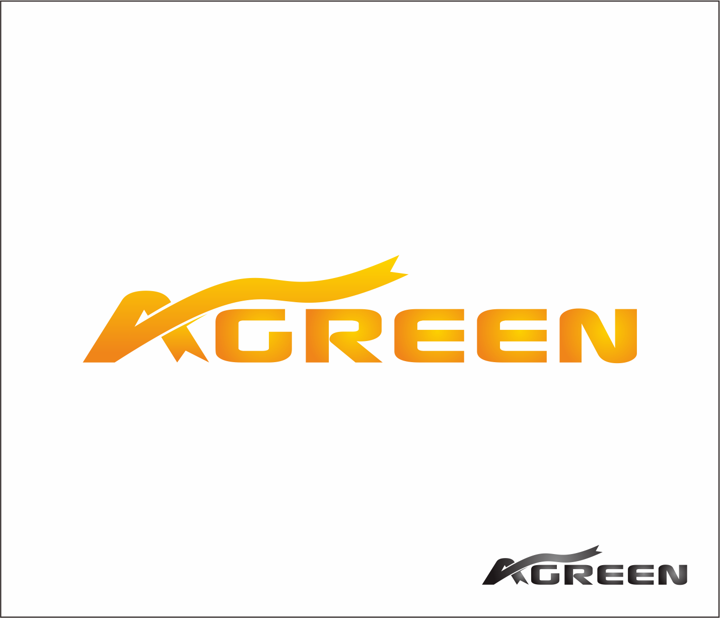 Logo Design by Armada Jamaluddin - Entry No. 7 in the Logo Design Contest Inspiring Logo Design for Agreen.