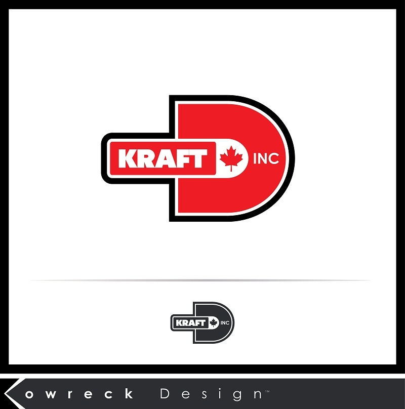 Logo Design by kowreck - Entry No. 49 in the Logo Design Contest Unique Logo Design Wanted for Kraft D Inc.
