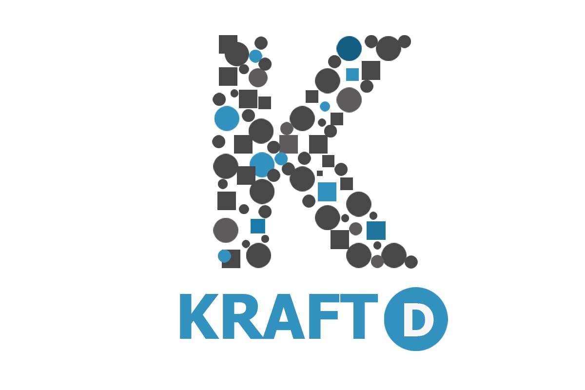Logo Design by Srikant Budakoti - Entry No. 52 in the Logo Design Contest Unique Logo Design Wanted for Kraft D Inc.