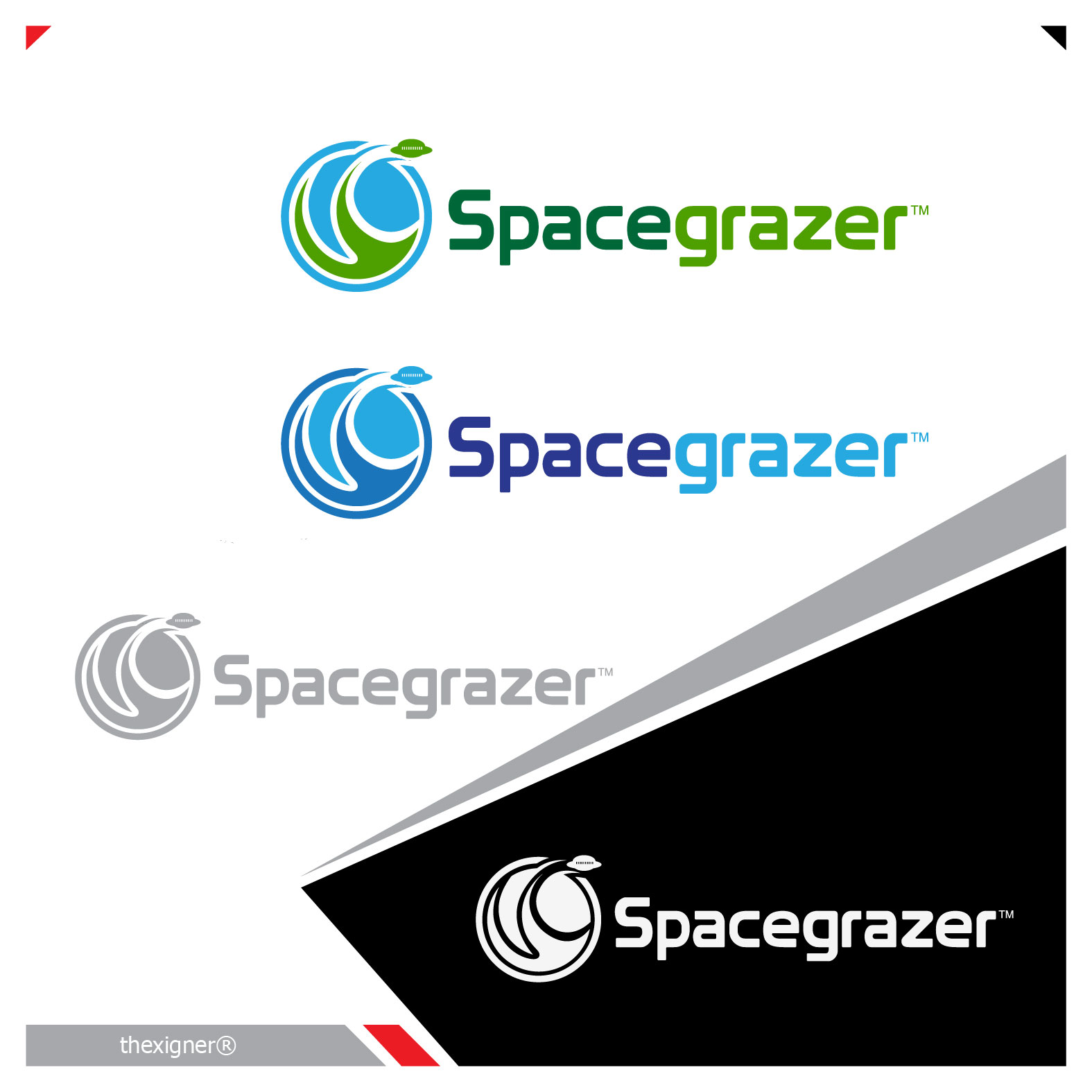 Logo Design by lagalag - Entry No. 153 in the Logo Design Contest Fun Logo Design for Spacegrazer.