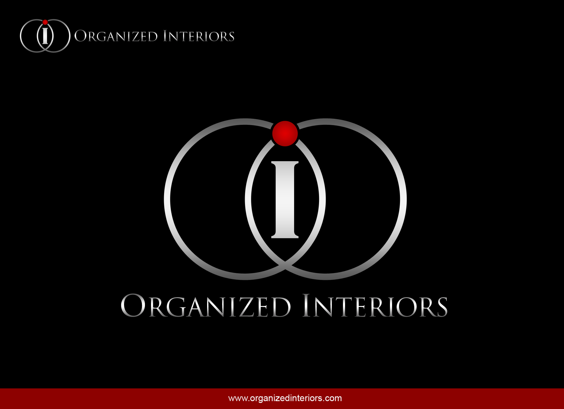 Logo Design by omARTist - Entry No. 131 in the Logo Design Contest Imaginative Logo Design for Organized Interiors.