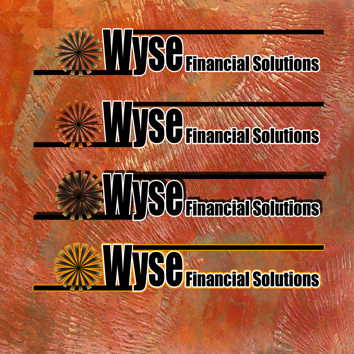 Logo Design by MITUCA ANDREI - Entry No. 30 in the Logo Design Contest Fun Logo Design for Wyse Financial Solutions.