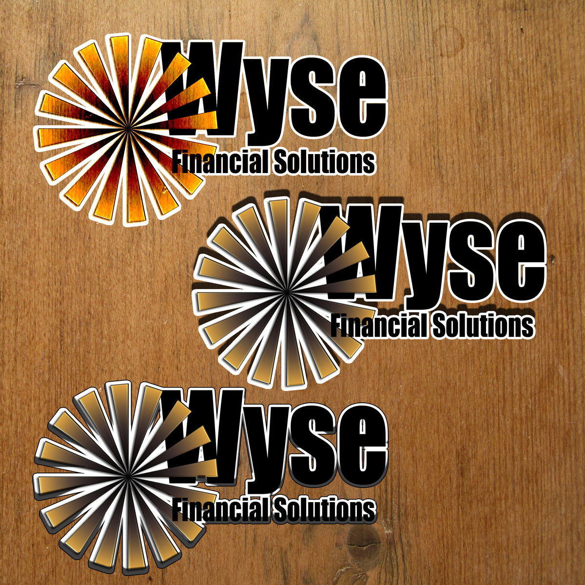 Logo Design by MITUCA ANDREI - Entry No. 31 in the Logo Design Contest Fun Logo Design for Wyse Financial Solutions.