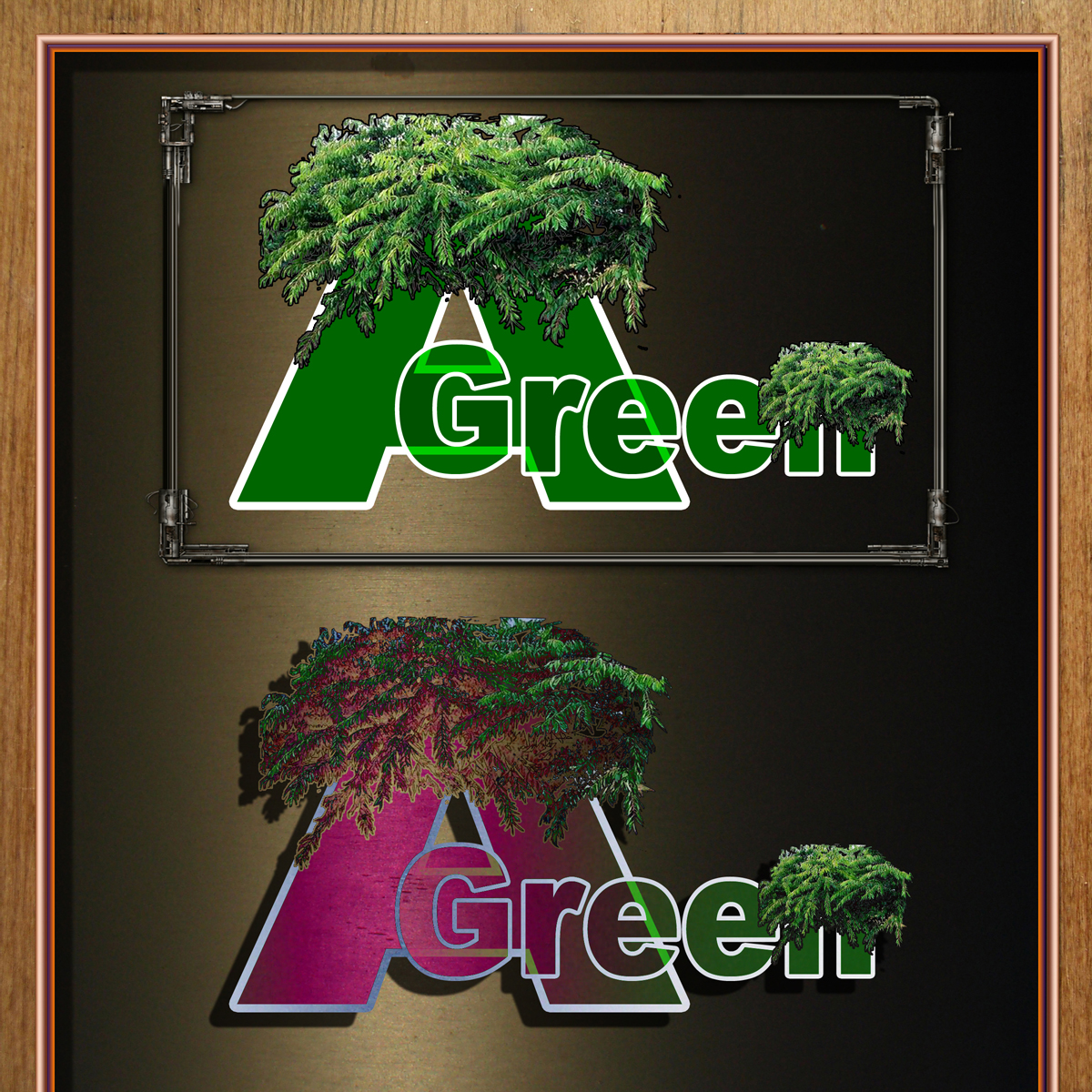 Logo Design by MITUCA ANDREI - Entry No. 8 in the Logo Design Contest Inspiring Logo Design for Agreen.