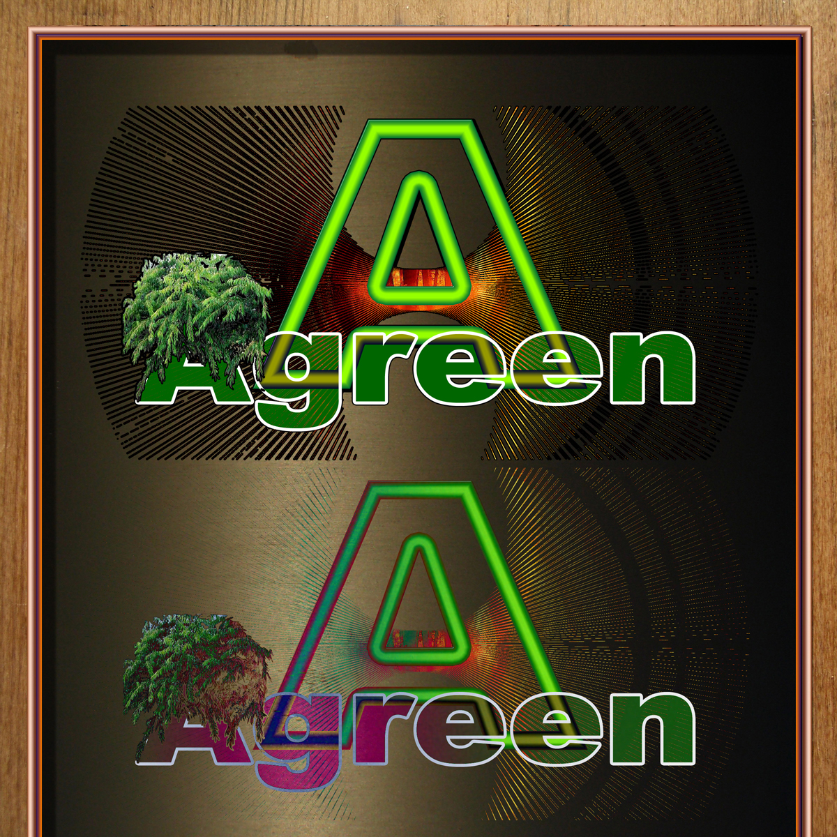 Logo Design by MITUCA ANDREI - Entry No. 10 in the Logo Design Contest Inspiring Logo Design for Agreen.