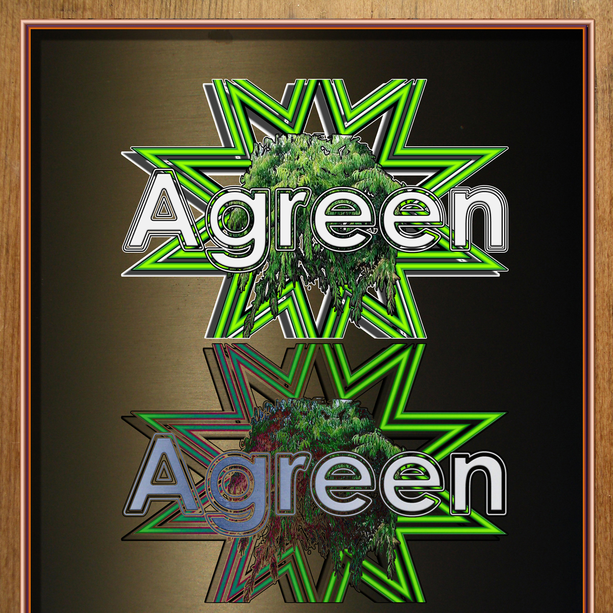 Logo Design by MITUCA ANDREI - Entry No. 12 in the Logo Design Contest Inspiring Logo Design for Agreen.