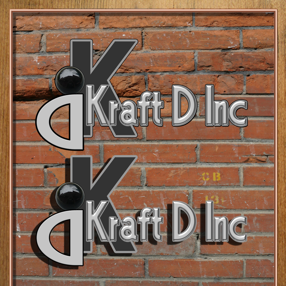 Logo Design by MITUCA ANDREI - Entry No. 58 in the Logo Design Contest Unique Logo Design Wanted for Kraft D Inc.