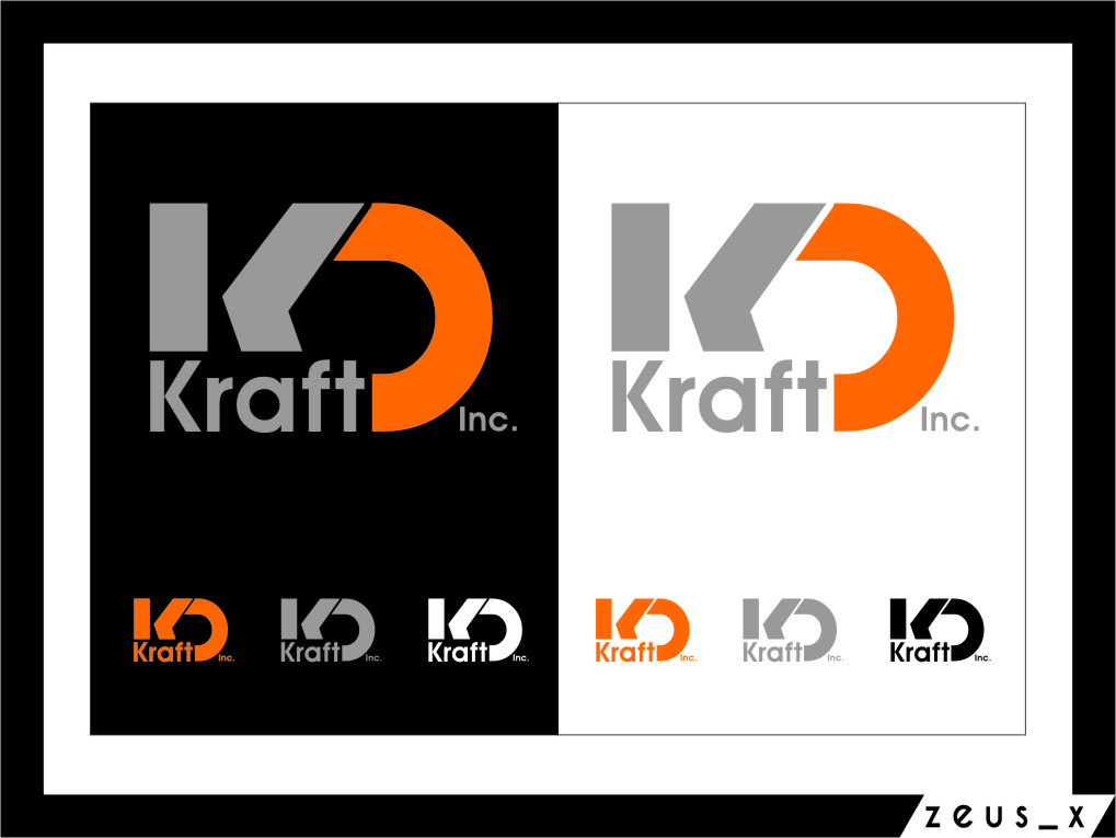 Logo Design by RoSyid Rono-Rene On Java - Entry No. 67 in the Logo Design Contest Unique Logo Design Wanted for Kraft D Inc.