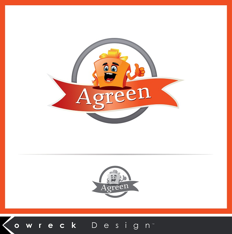 Logo Design by kowreck - Entry No. 13 in the Logo Design Contest Inspiring Logo Design for Agreen.