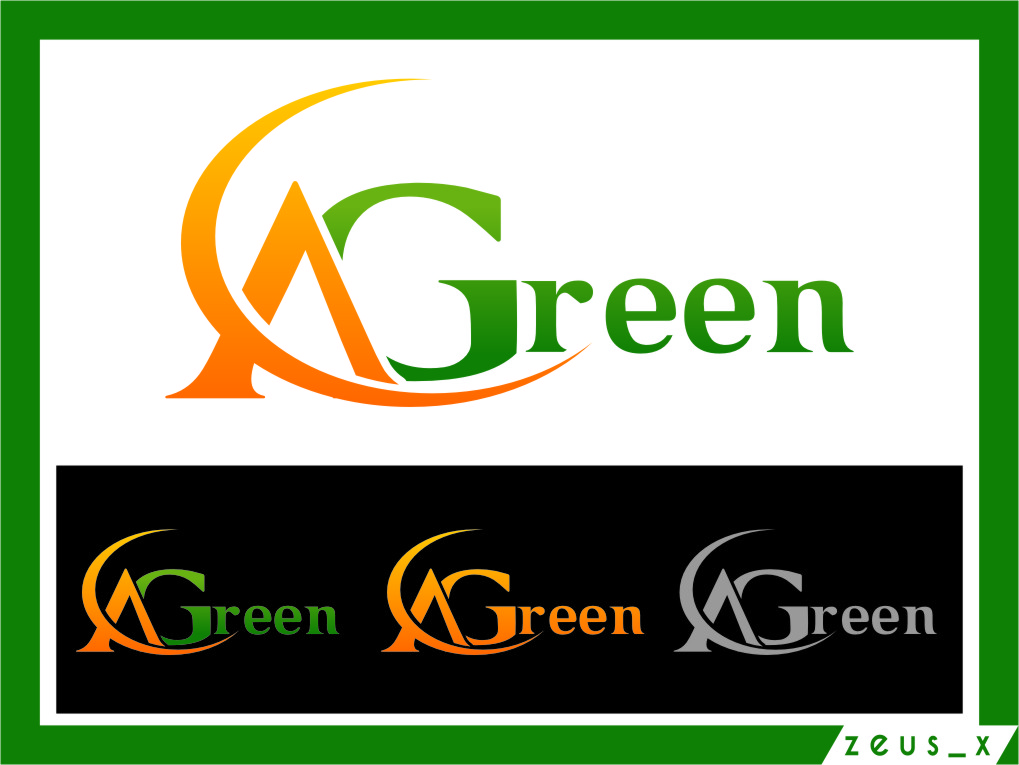 Logo Design by RasYa Muhammad Athaya - Entry No. 14 in the Logo Design Contest Inspiring Logo Design for Agreen.