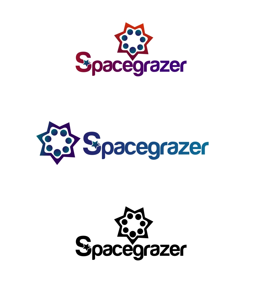 Logo Design by Private User - Entry No. 156 in the Logo Design Contest Fun Logo Design for Spacegrazer.