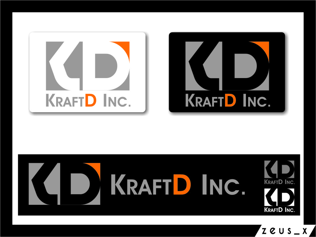 Logo Design by RasYa Muhammad Athaya - Entry No. 70 in the Logo Design Contest Unique Logo Design Wanted for Kraft D Inc.