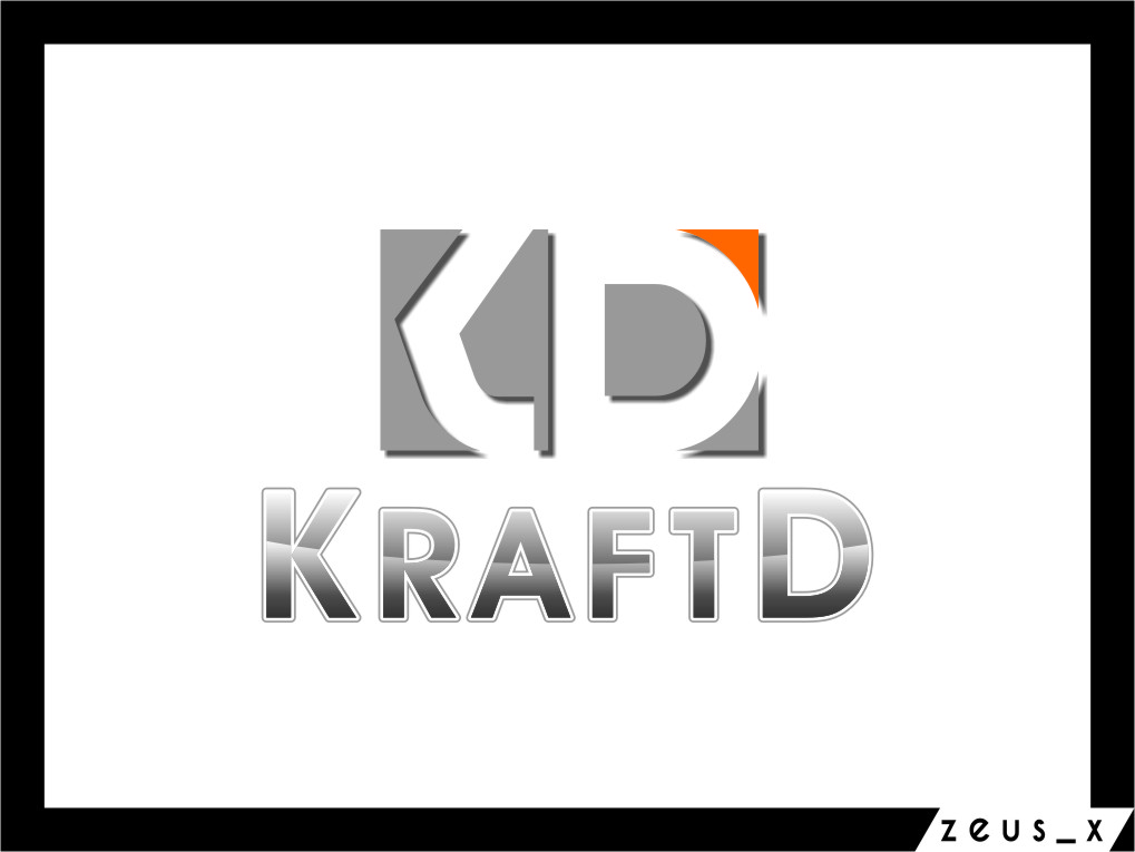 Logo Design by Ngepet_art - Entry No. 72 in the Logo Design Contest Unique Logo Design Wanted for Kraft D Inc.