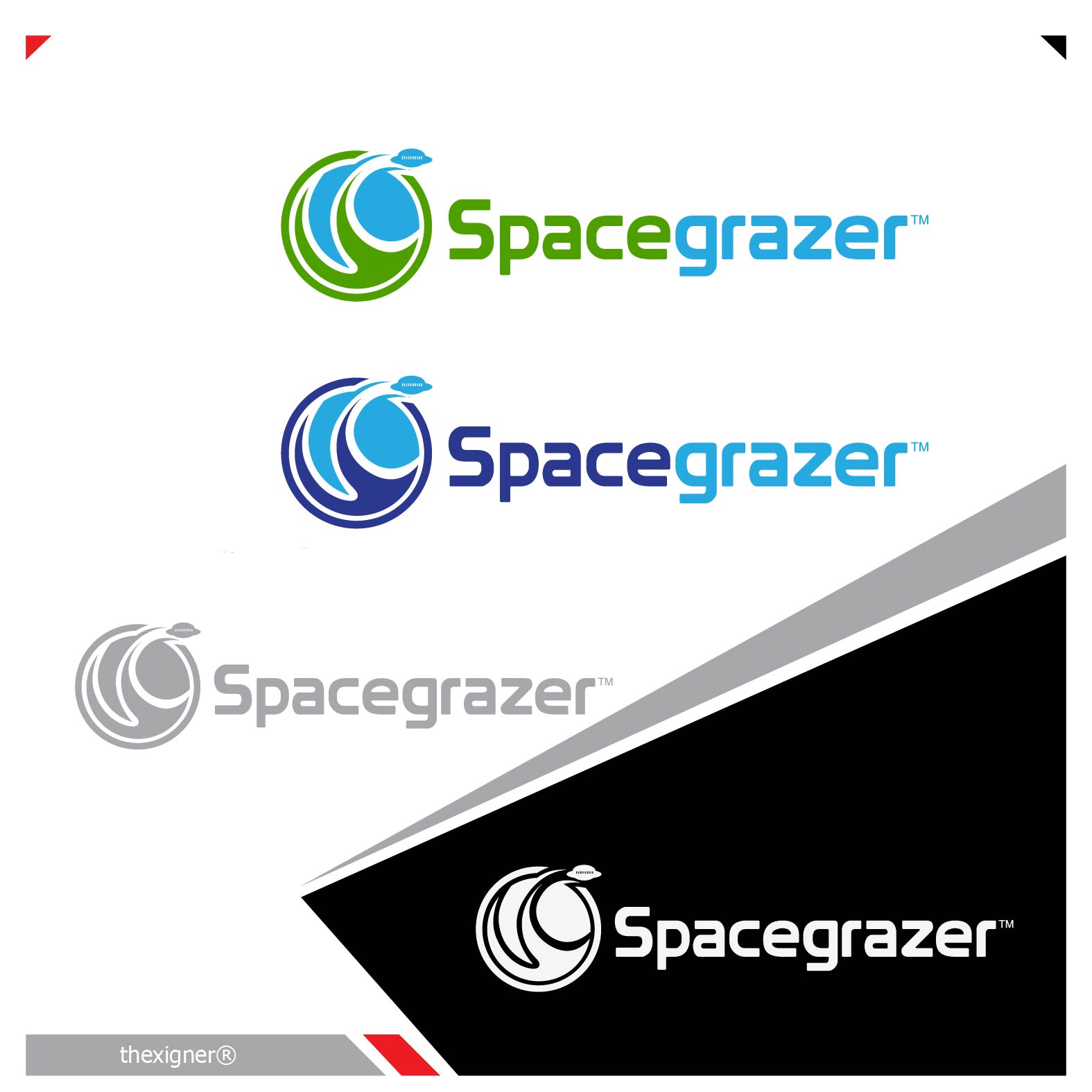 Logo Design by lagalag - Entry No. 158 in the Logo Design Contest Fun Logo Design for Spacegrazer.