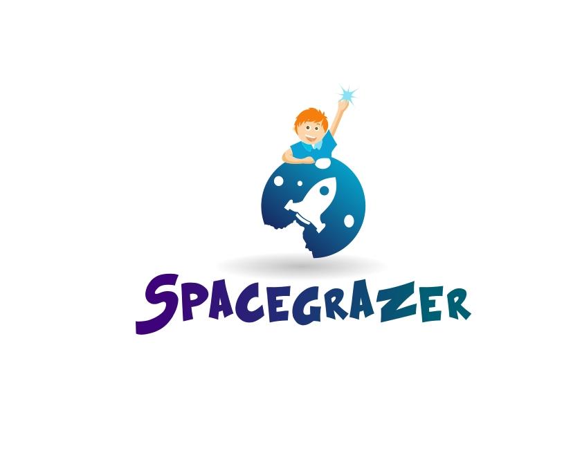 Logo Design by Private User - Entry No. 161 in the Logo Design Contest Fun Logo Design for Spacegrazer.