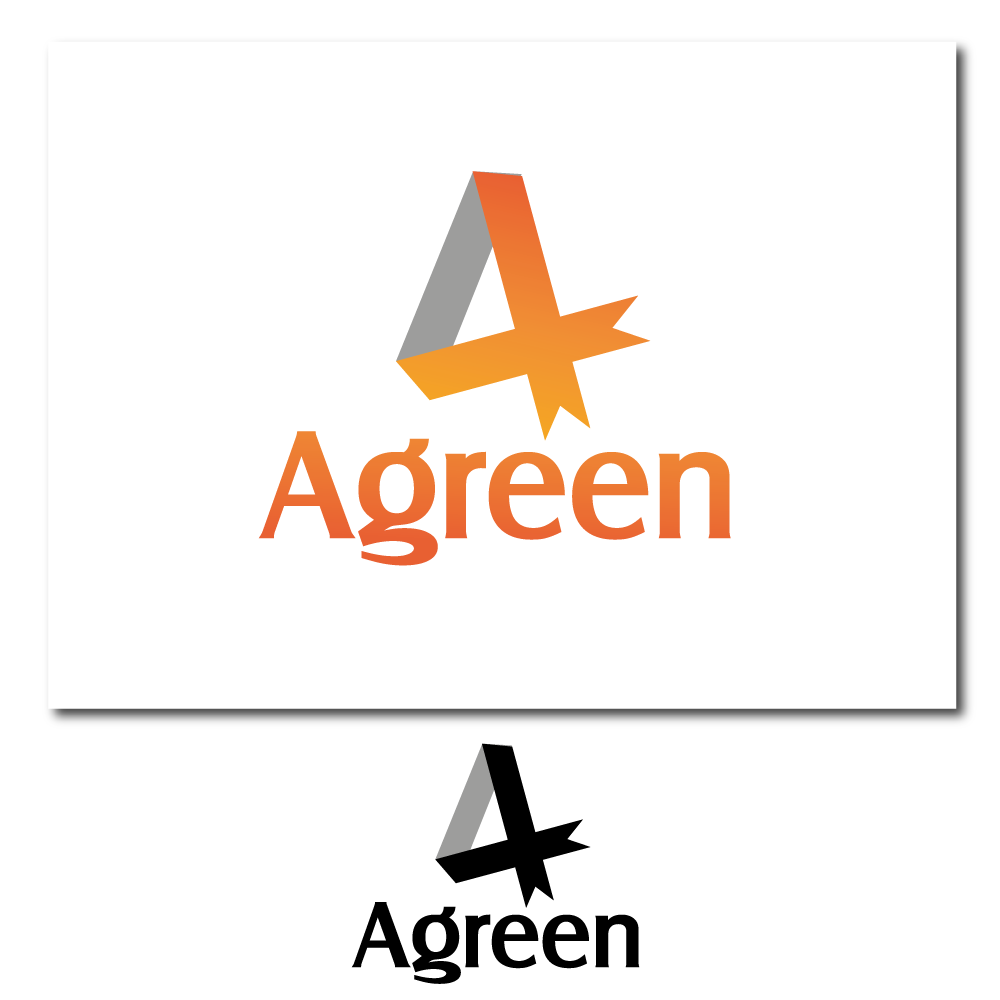 Logo Design by rockin - Entry No. 17 in the Logo Design Contest Inspiring Logo Design for Agreen.