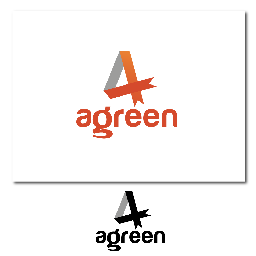 Logo Design by rockin - Entry No. 18 in the Logo Design Contest Inspiring Logo Design for Agreen.