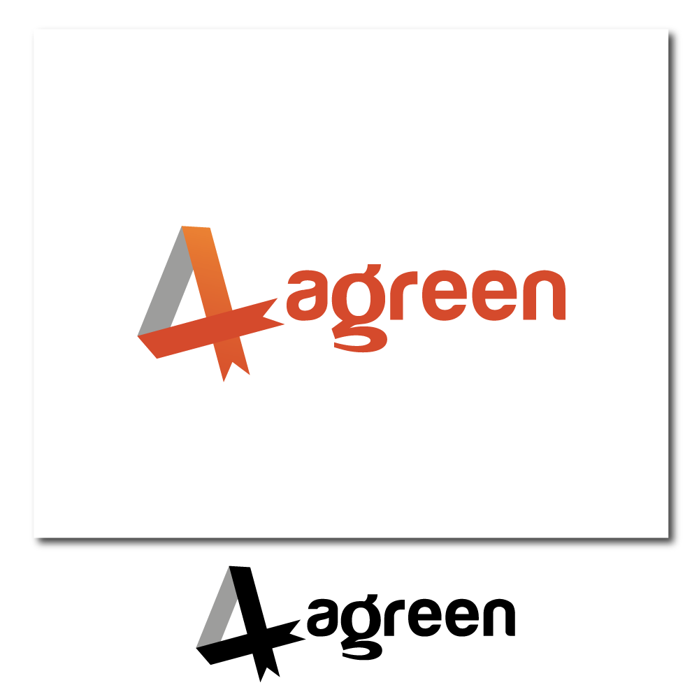 Logo Design by rockin - Entry No. 19 in the Logo Design Contest Inspiring Logo Design for Agreen.