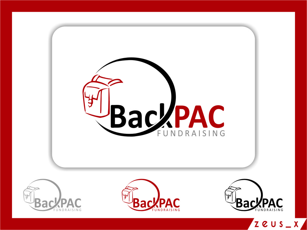 Logo Design by RasYa Muhammad Athaya - Entry No. 33 in the Logo Design Contest Imaginative Logo Design for BackPAC Fundraising.