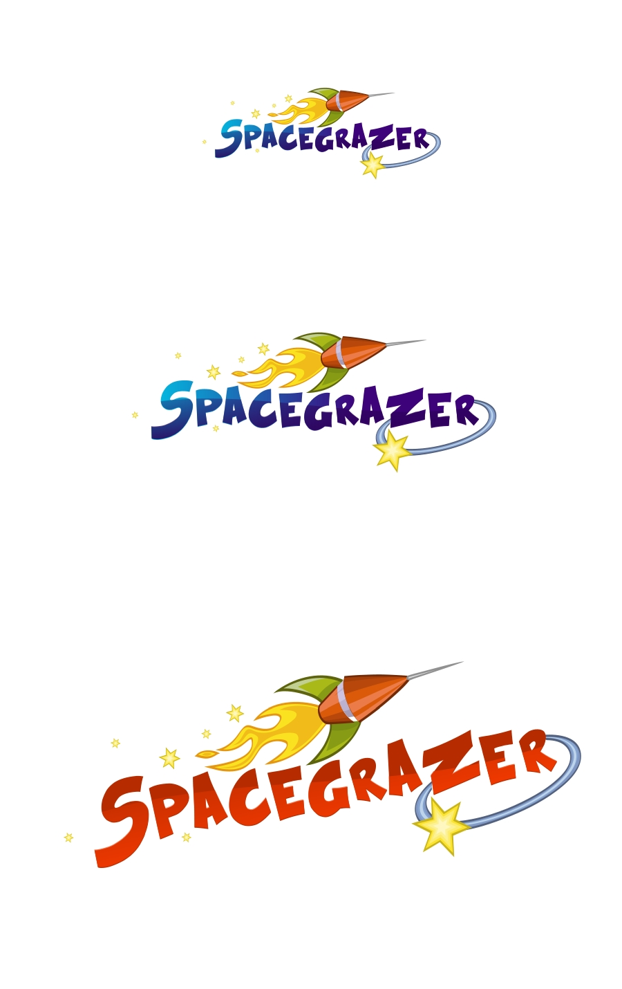 Logo Design by Private User - Entry No. 163 in the Logo Design Contest Fun Logo Design for Spacegrazer.
