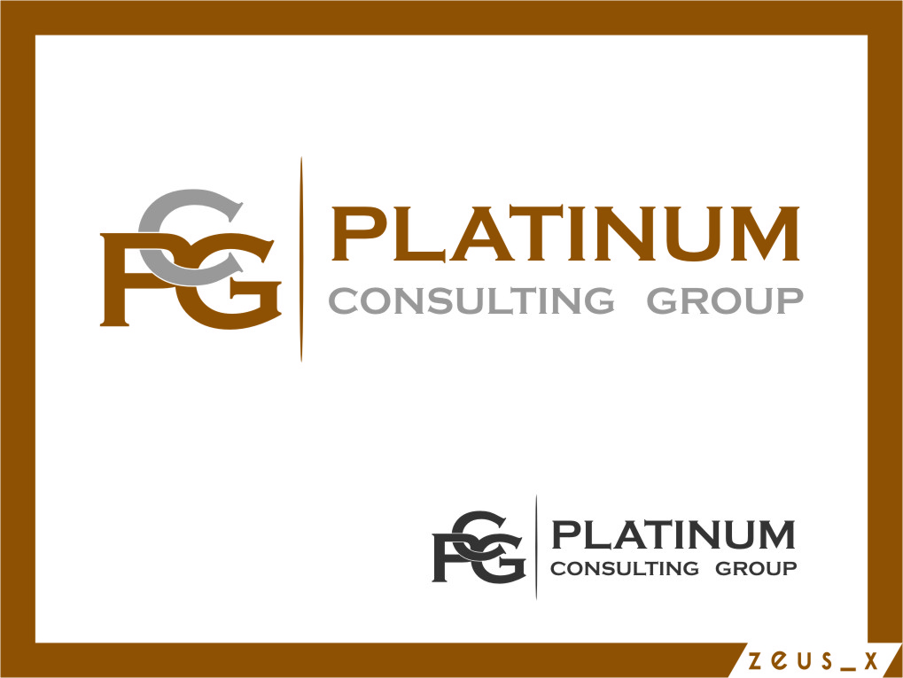 Logo Design by RasYa Muhammad Athaya - Entry No. 1 in the Logo Design Contest Captivating Logo Design for Platinum Consulting Group.