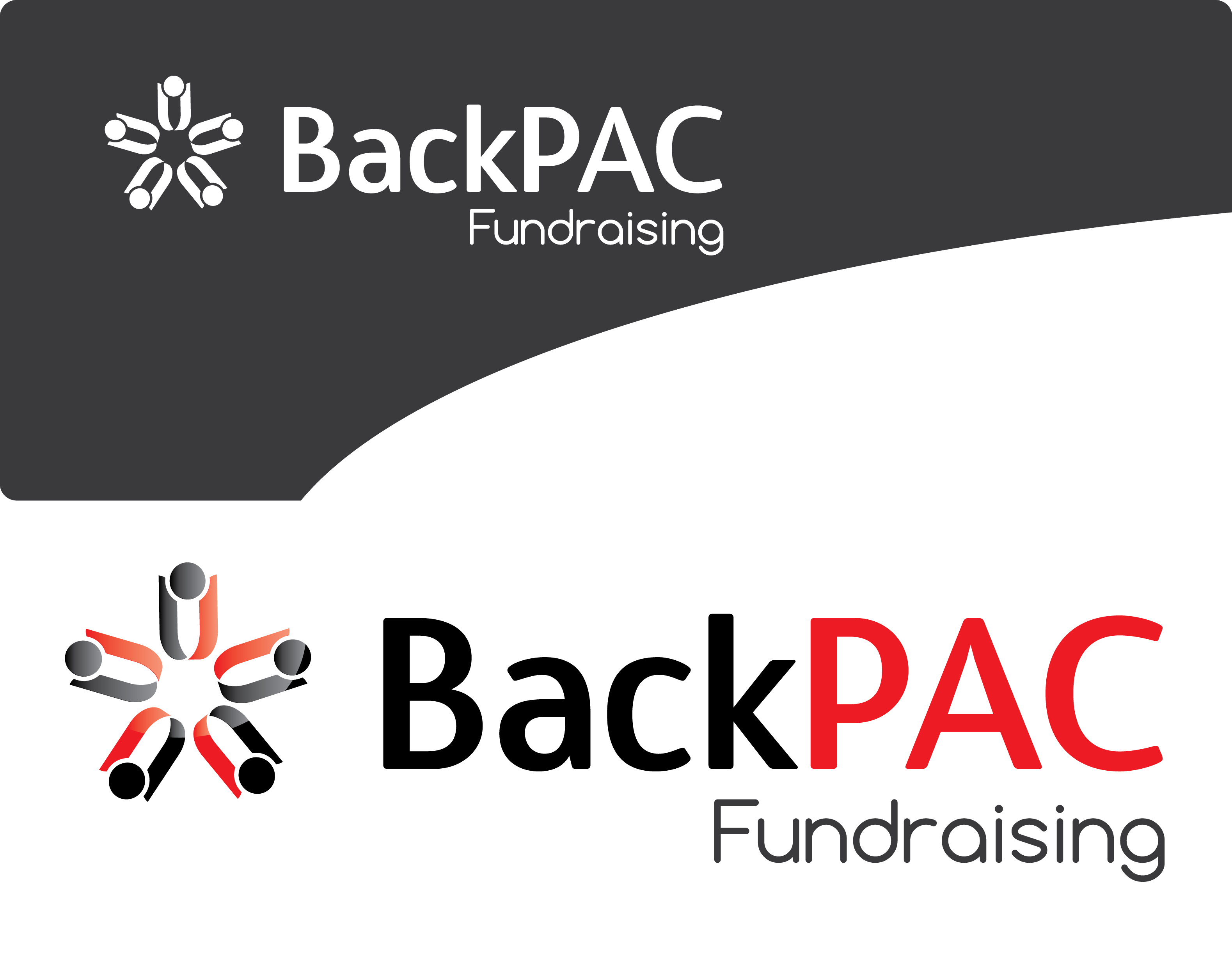 Logo Design by 354studio - Entry No. 34 in the Logo Design Contest Imaginative Logo Design for BackPAC Fundraising.