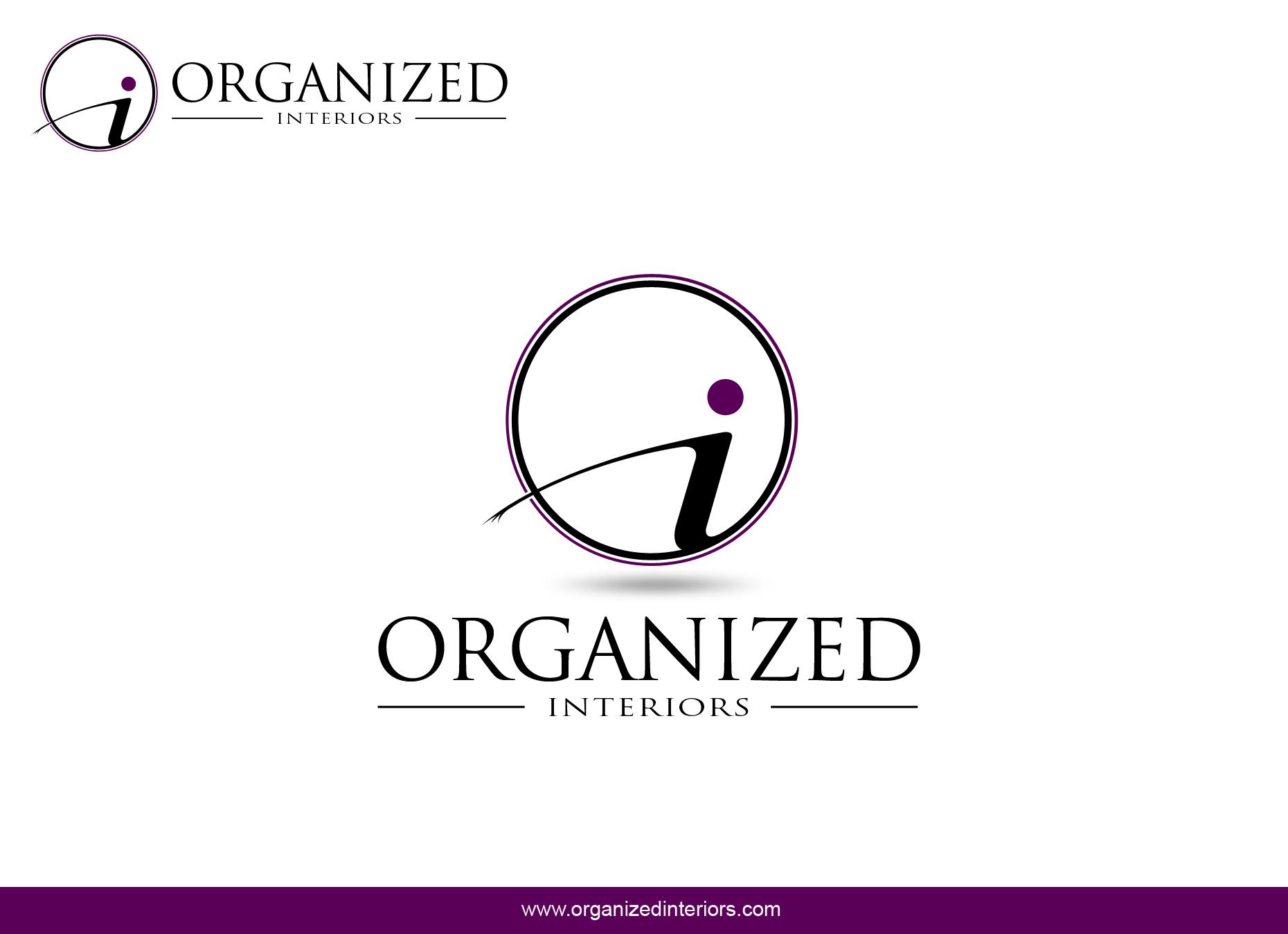 Logo Design by omARTist - Entry No. 135 in the Logo Design Contest Imaginative Logo Design for Organized Interiors.